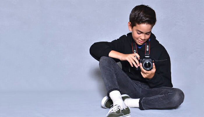 Specialty Photography Classes - Kids Camp